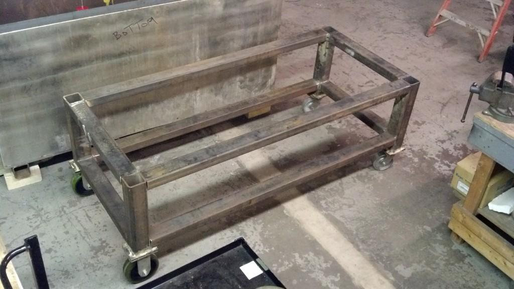 New annealer frame.